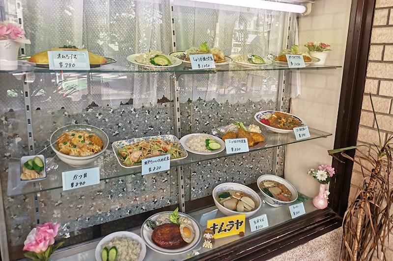 キムラヤの食品サンプル