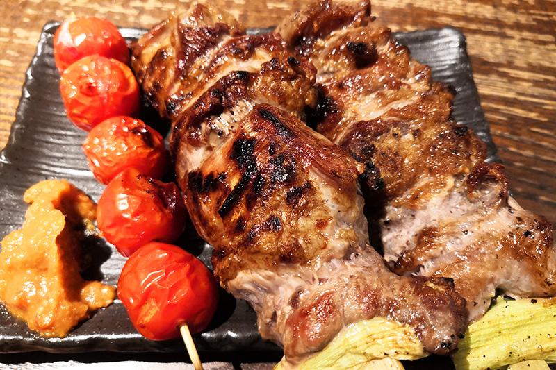 肉と野菜の串