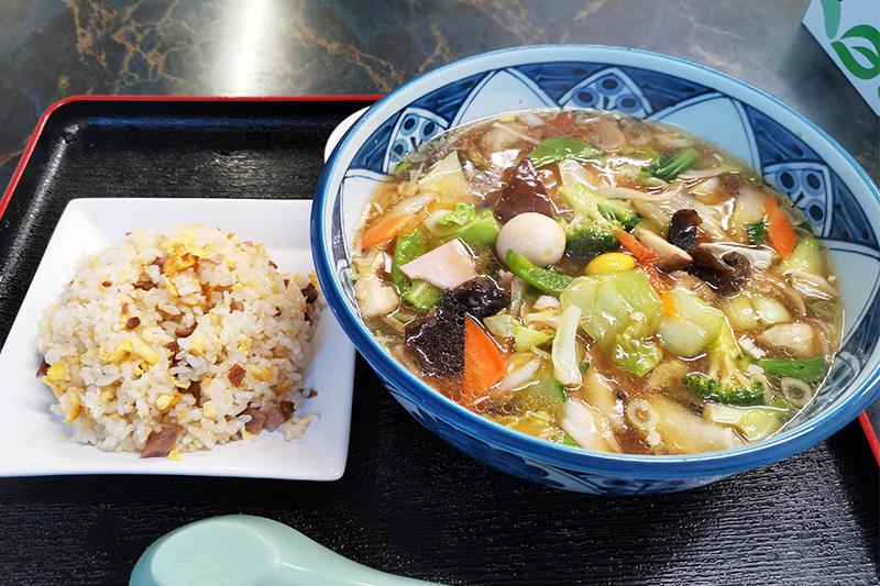 華山麺 ミニチャーハンセット