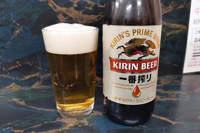 キリン一番搾り瓶ビール
