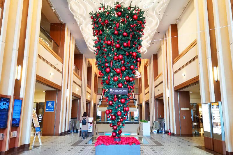 パインズの逆さクリスマスツリーを見てきた!2021年に向かって上を見上げよう