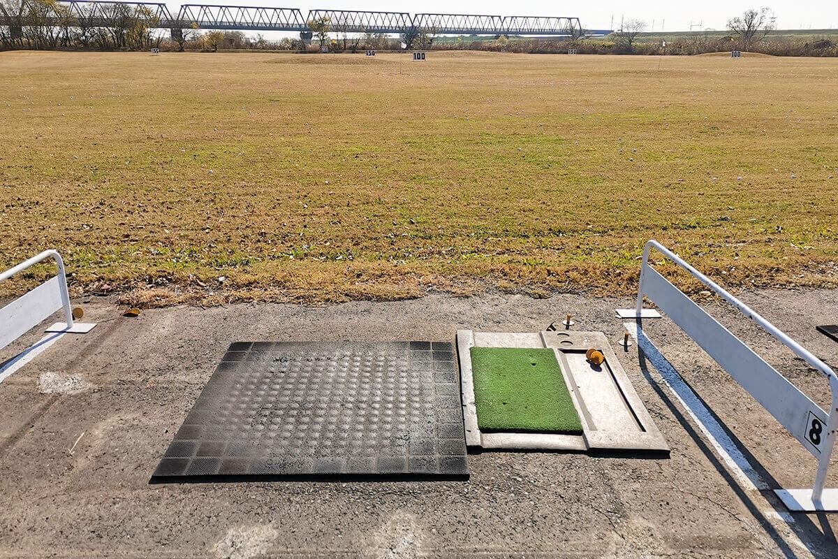 浦和新日本ゴルフ練習場に行ってきた。めちゃくちゃ広い