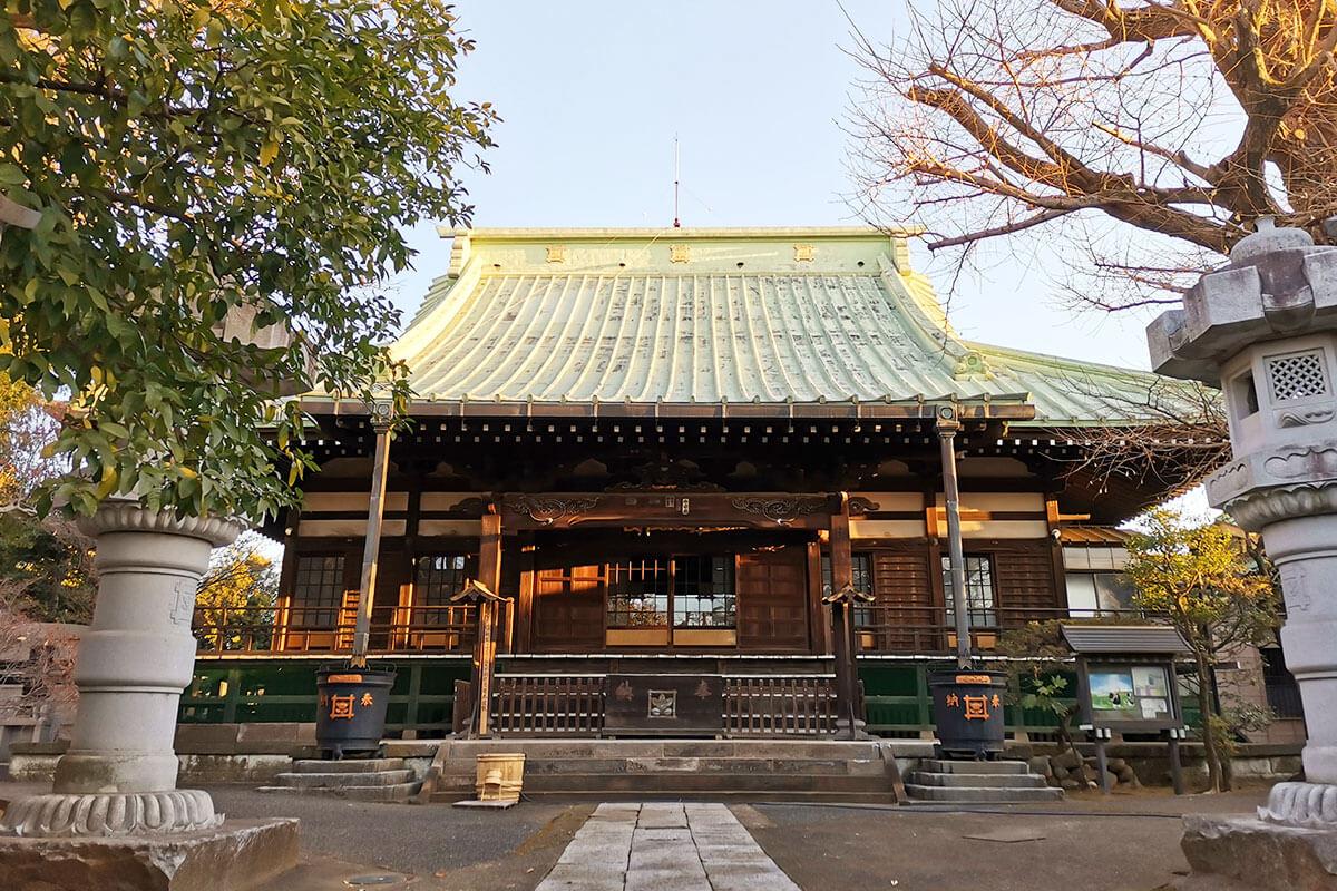 浦和区東岸町のお寺「長久山 円蔵寺」が気になる