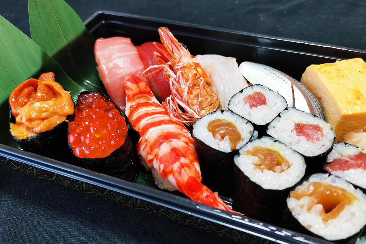 浦和で人気のお寿司屋さん「鮨ふく」でテイクアウトしてみた!