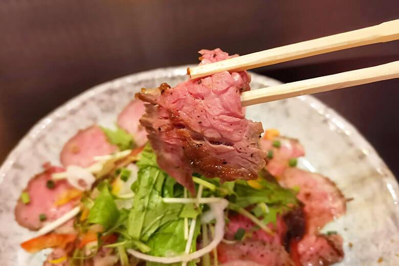 ローストビーフ丼十食