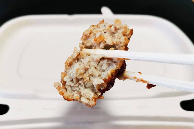 デミグラスソースハンバーグ実食
