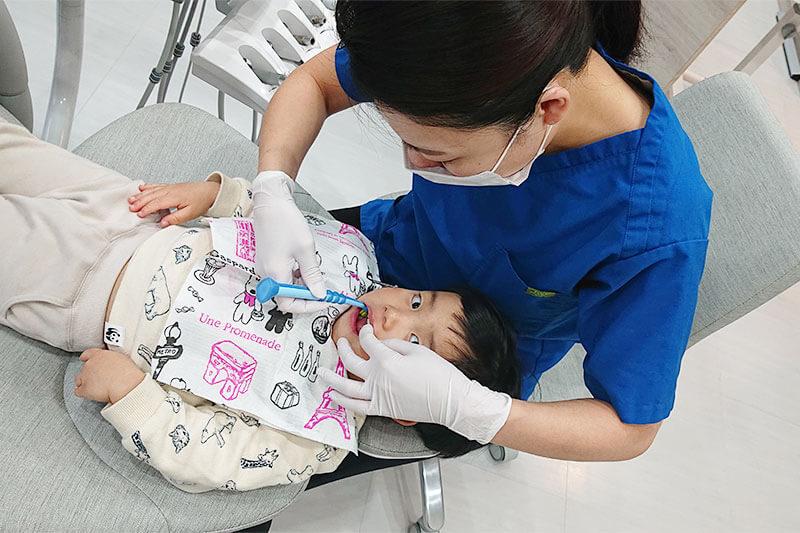 北浦和の登坂歯科医院で0〜12歳を対象にしたハミガキ教室を開催中