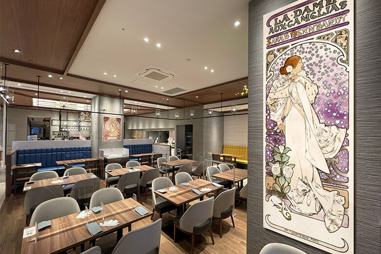 『メモリーズ オブ ミュシャ』ロイヤルパインズホテル浦和で4月17日からスタート