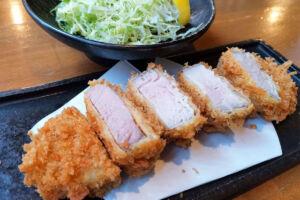 柔らか香り豚のヒレカツ定食「浦和酒店 楽多(らった)」でランチ