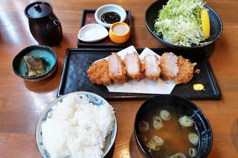 浦和酒店 楽多(らった)ヒレカツ定食