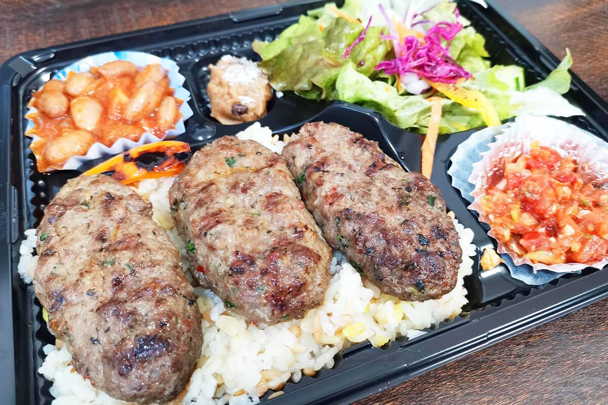 浦和で唯一のトルコ料理店「アセナ」で肉好きも満足のハンバーグ
