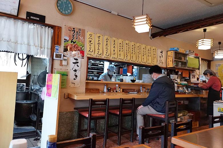 昭和10年創業のそばうどん屋さん「常盤食堂」に行ってきた