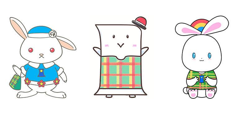 正式なマスコットキャラクターデザイン